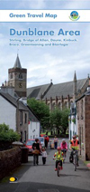 Dunblane green travel map100