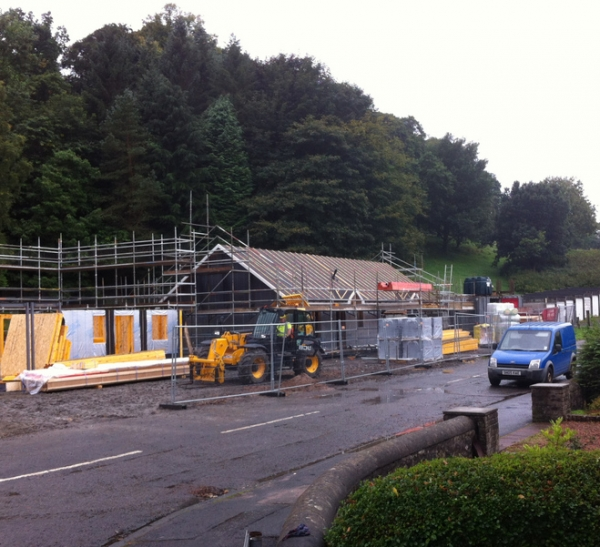 New houses for older people now taking shape at Bogside