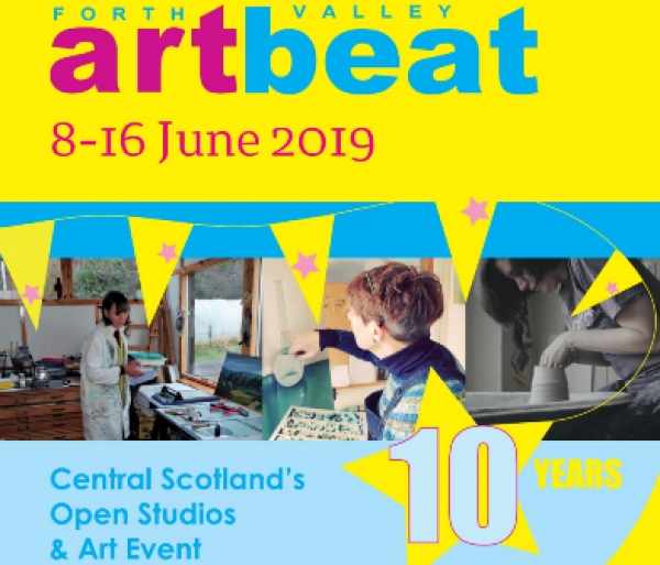 Open Studios : Forth Valley Art Beat to 16 June