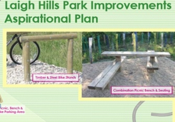 Improvements to play area in Laigh Hills Park : Your views sought