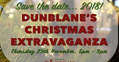 Dunblane's Christmas Extravaganza on Thursday 29 November
