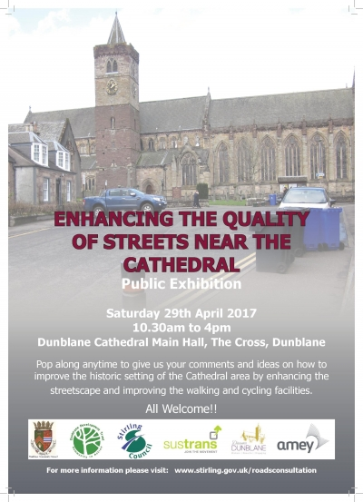 Consultation re Enhancing Quality of Streets near Cathedral - 29 April