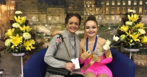 Megan wins skating silver at UK Championships