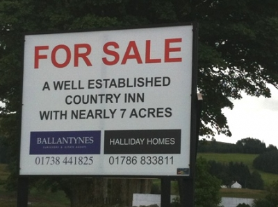 Sheriffmuir Inn now Closed and For Sale