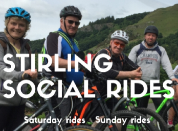 Stirling Social Rides : Get on your bike