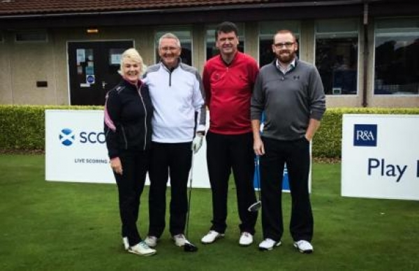 Dunblane duo are runners up at Carnoustie