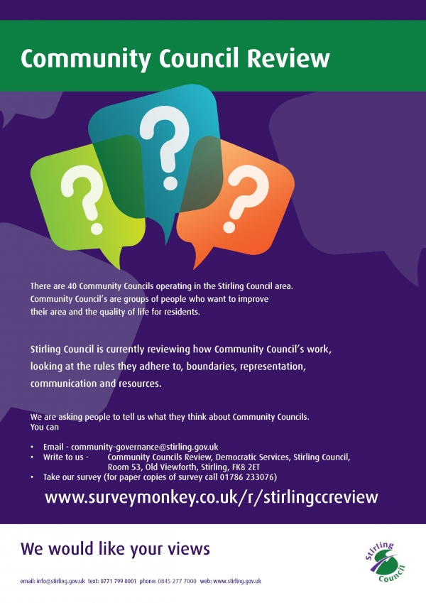 Have Your Say - Community Council Review
