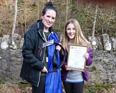 Ella recognised for commitment to cleaning up Scotland