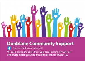 Dunblane Community Support fundraising appeal