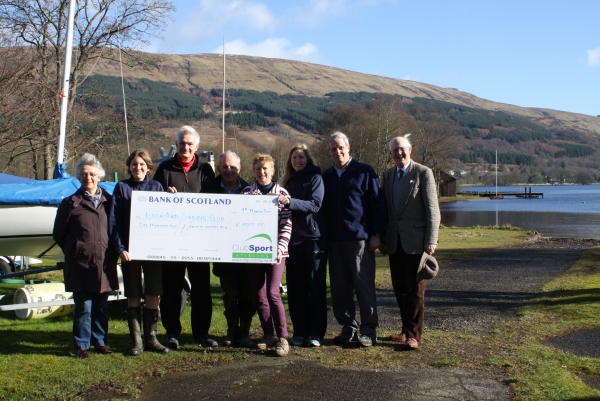 Loch Ard Sailing Club funding application success