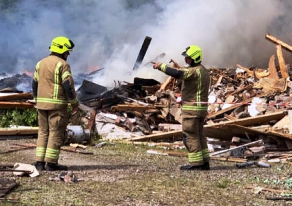 Glassingall House demolition : Police probe
